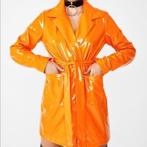 JUICY VIRAL VENGEANCE TRENCH COAT